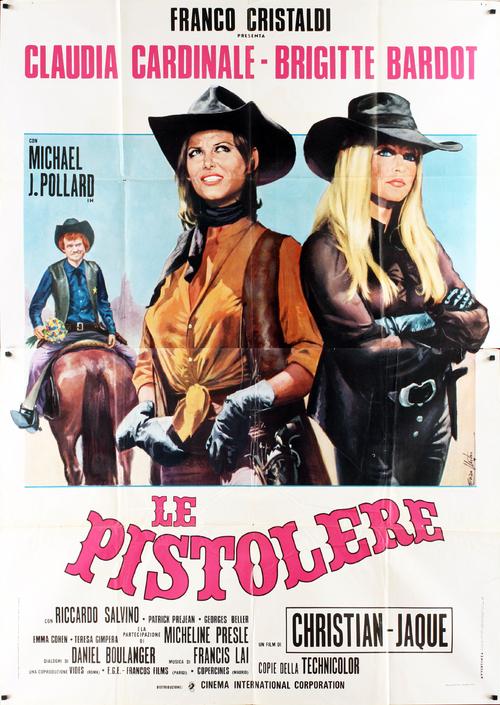 LES PETROLEUSES - BOX OFFICE BRIGITTE BARDOT 1971