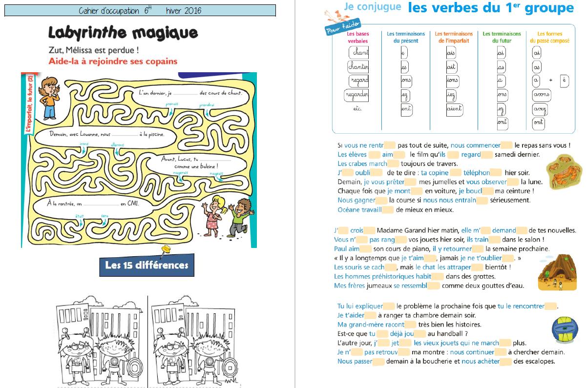 cahiers de vacances jeux de raisonnement logique pour 5. Black Bedroom Furniture Sets. Home Design Ideas