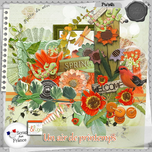 LEAUGOSCRAP: UN AIR DE PRINTEMPS