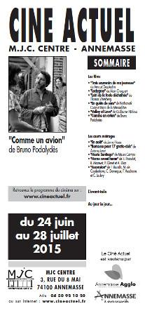 Programme du 24 juin au 28 juillet 2015