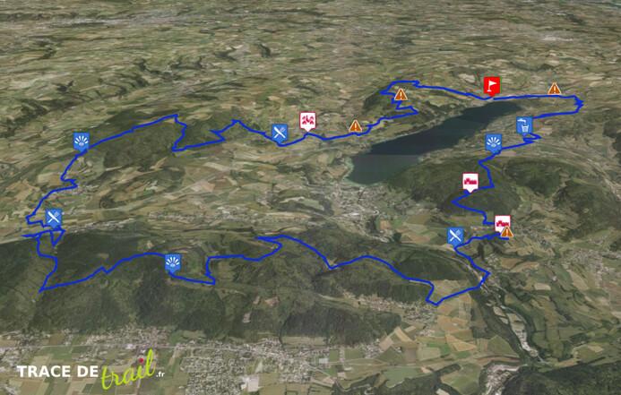 Dimanche 24 avril 50km trail du lac de Paladru