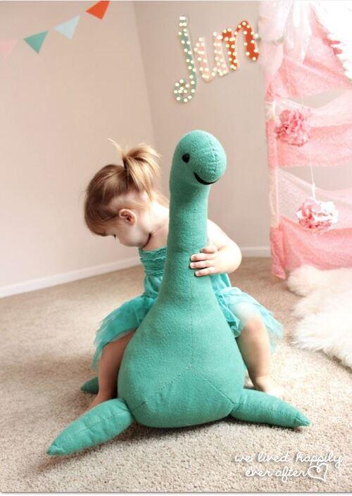 Couture: partage du tuto dynosaure