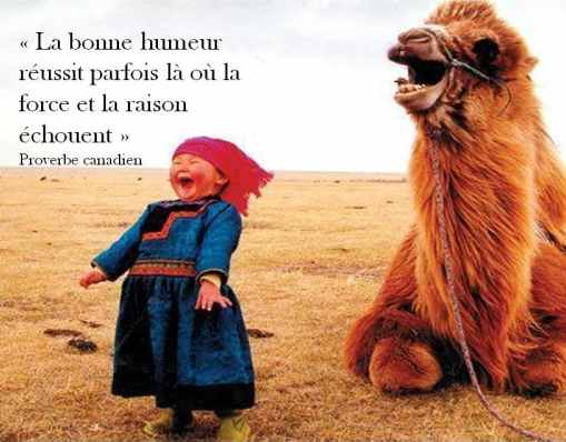 BONNE HUMEUR...