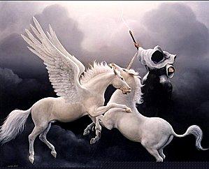 La Licorne et Pégase