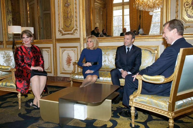 Visite d'État en France: Jour 1