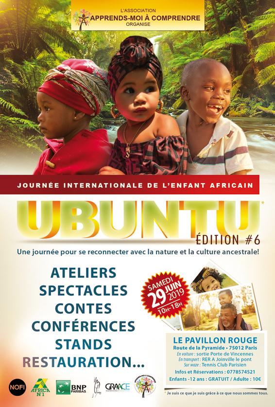 SAMEDI 29 JUIN 2019: JOURNÉE INTERNATIONALE DE L'ENFANT AFRICAIN EDITION#6!