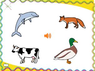 Reconnaitre le cri des animaux (activité Power Point)
