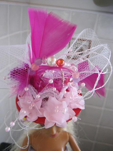 Ma dernière robe et le chapeau qui fait partie du défi de Pipiou pour les chapeau de la ste Catherine