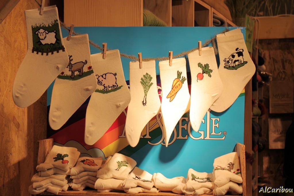 Salon de l'agriculture 2012 et chaussettes agricoles