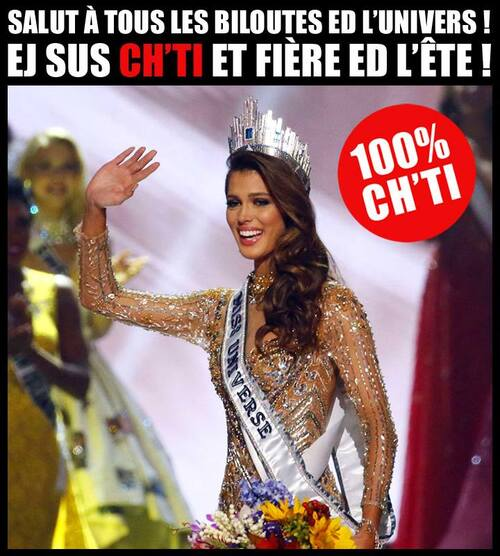 Humour Ch'ti:  Miss univers