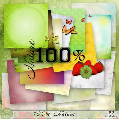 Kit 100% Nature
