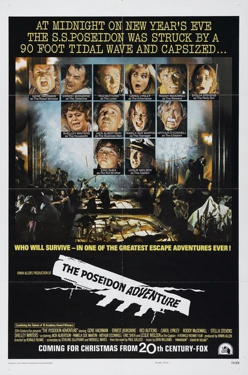 POSEIDON ADVENTURE BOX OFFICE 1972