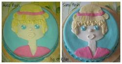 Gâteau anniversaire de Killian pour demain....