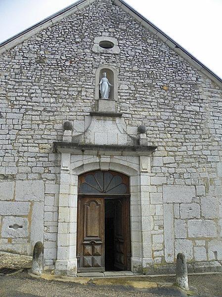 Lhuis ( église )
