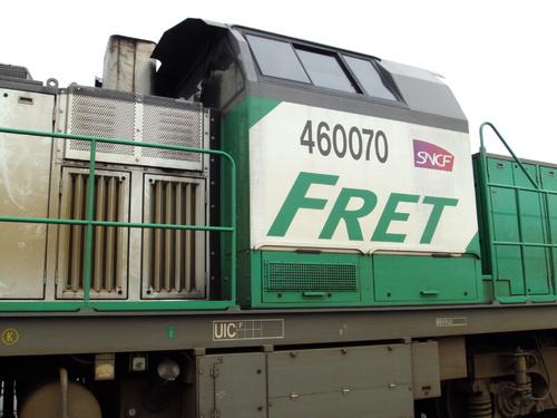 La BB 460070 FRET à Vannes