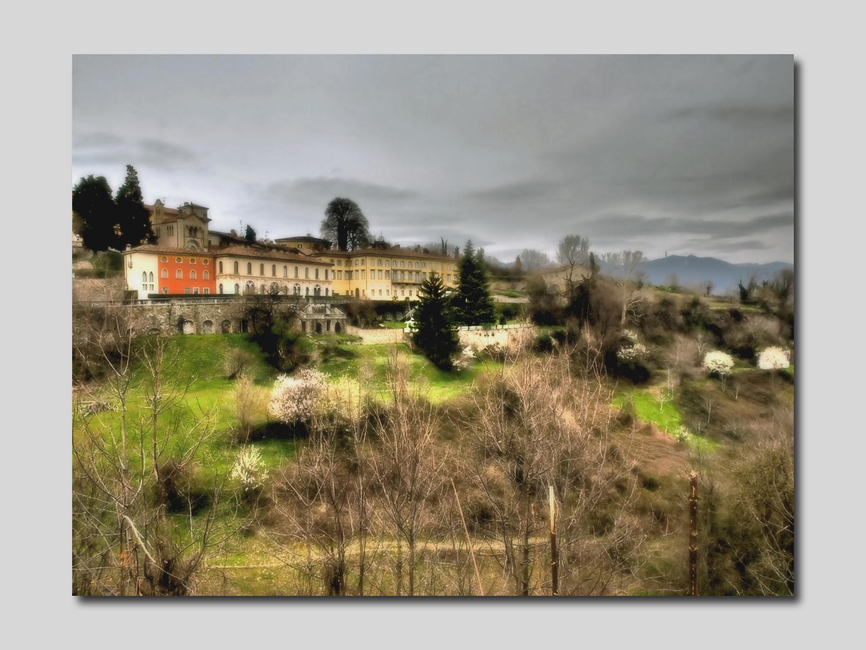 Bergamo (It) Les couleurs de la cité haute