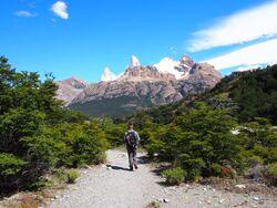 Petite rando vers le glacier Piedras Blancas