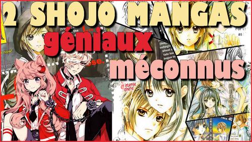 2 shojo mangas méconnus mais géniaux