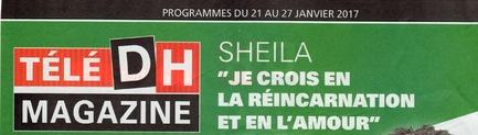 Actualité Sheila 2017 / MAJ du 22 janvier