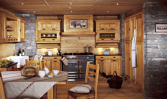 Awesome Cuisine Style Chalet Montagne Contemporary - Design Trends ...