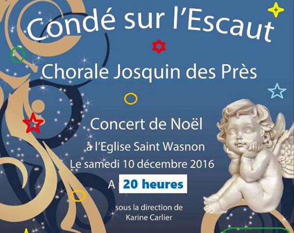 Concert de Noël, à Condé-sur-l'Escaut