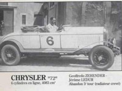 Le Mans 1928 Abandons & Eliminée