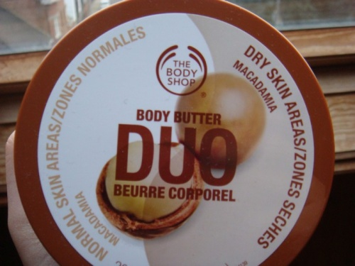 - Test : Duo corporel Body Shop -