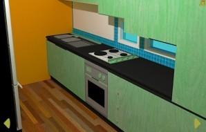Apartment puzzle escape