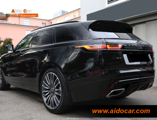 Location Rage Rover Velar R-dynamic 2018 à Casablanca
