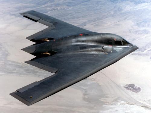 B-2 Spririt en vol. © inconnu.