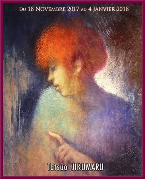Tatsuo Jikumaru expose à la Galerie d'Art et d'Or de Châtillon sur Seine ses peintures sublimes.......