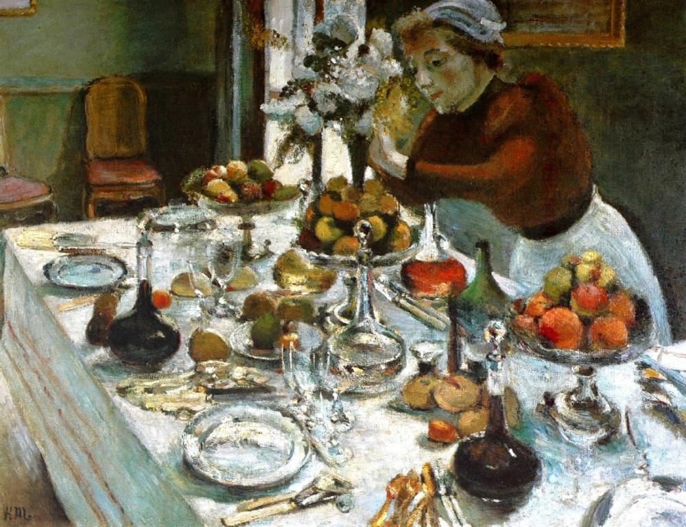 Henri Matisse ,à l'école de Moreau .
