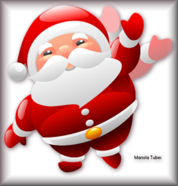 Tube père Noel vectoriel 2985