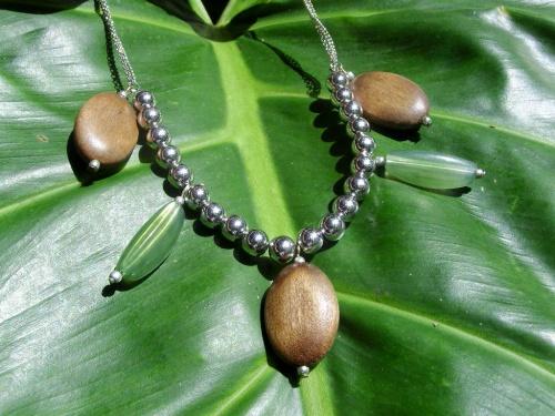 Bijoux inspirés par la végétation de Guadeloupe