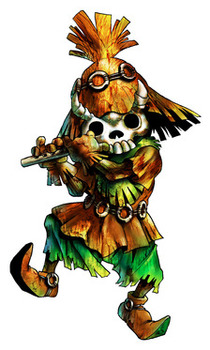 Skull Kid (Masked) - <i>Ocarina of Time 3D</i>