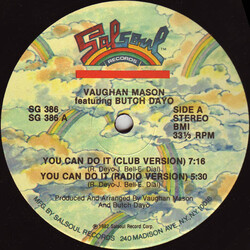 Vaughan Mason & Butch Dayo - You Can Do It