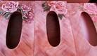 Boites a mouchoirs decors roses