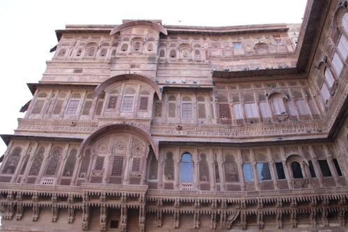 Le fort Mehrangarh de Jodhpur (suite)