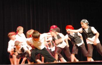 Danse et création à l'école