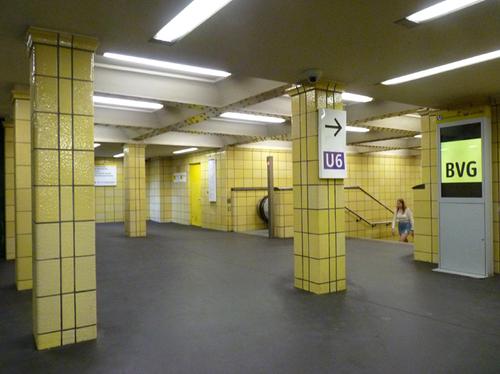 Berlin août 2019 métro