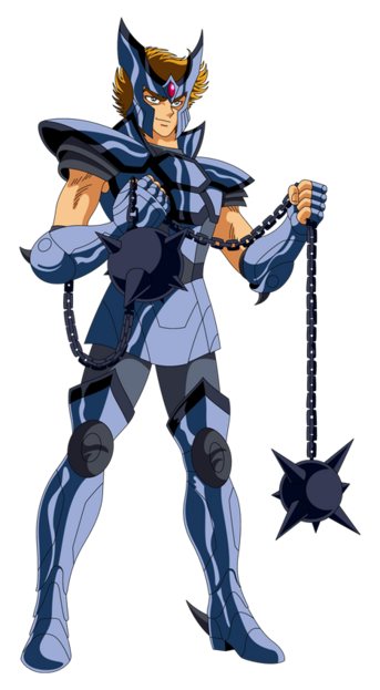 VI - Armure du Cerbère (Cerberus Cloth)