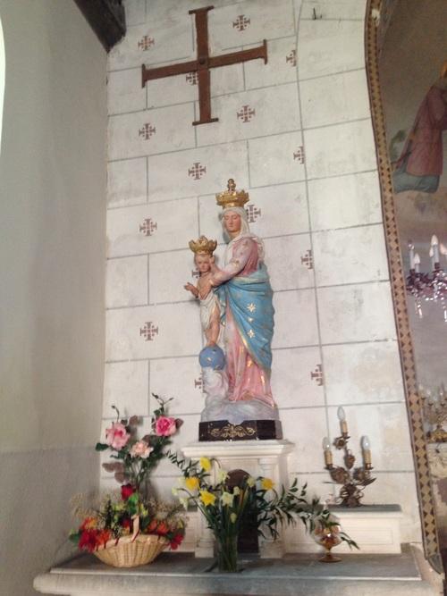 Lussault sur Loire - Vierge à l'enfant