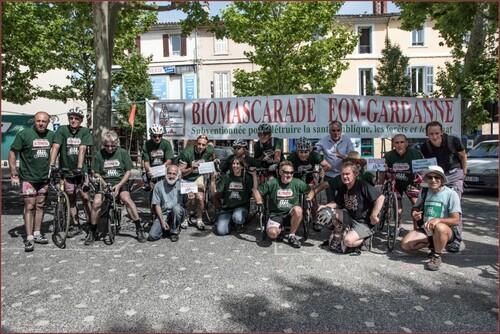 Le Tour Alternatiba 2015 est passé par Gardanne ...