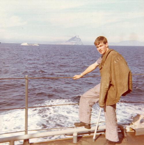 D'Estrées, détroit de Gibraltar en 1968