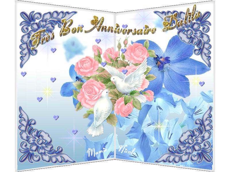 ♥♥ défi pour Arlette et bon anniversaire Dalila ♥♥