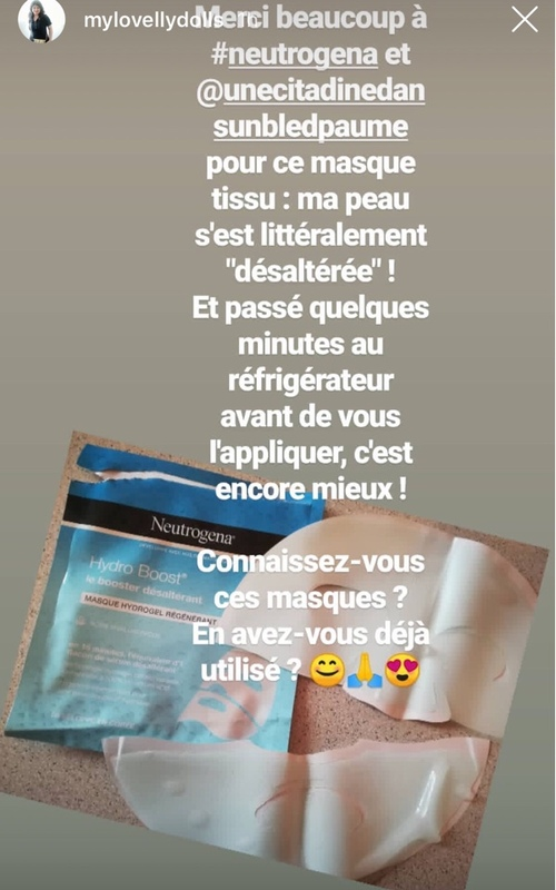 Test sérum et masque hydroboost de Neutrogena (Campagne beauty explorers)