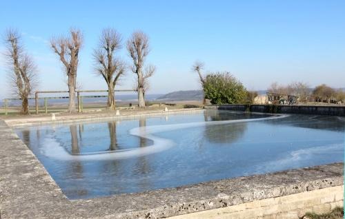 Le Châtillonnais durant les grands froids de février 2012...