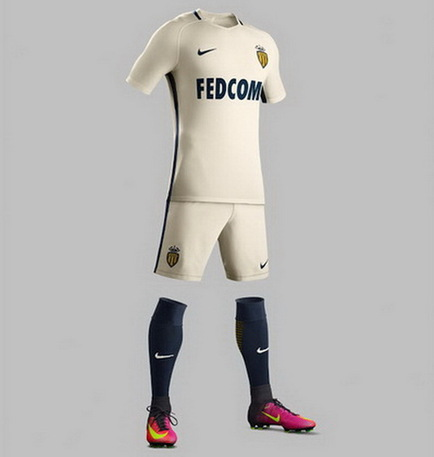 Nouveau maillot de foot AS Monaco 2017
