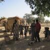 Burkina Boala Visite au chef des fétiches