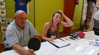 Forum des associations :Section Tennis de Table